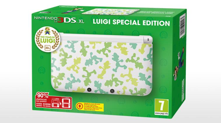 Luigi 30 Years Console