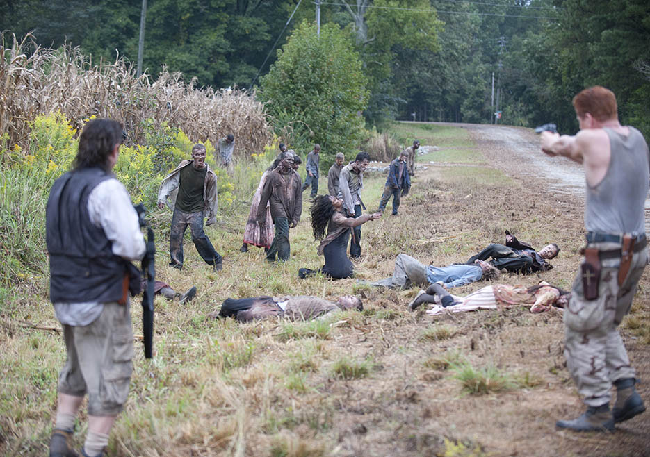 The Walking Dead 4x11 Claim Zombies