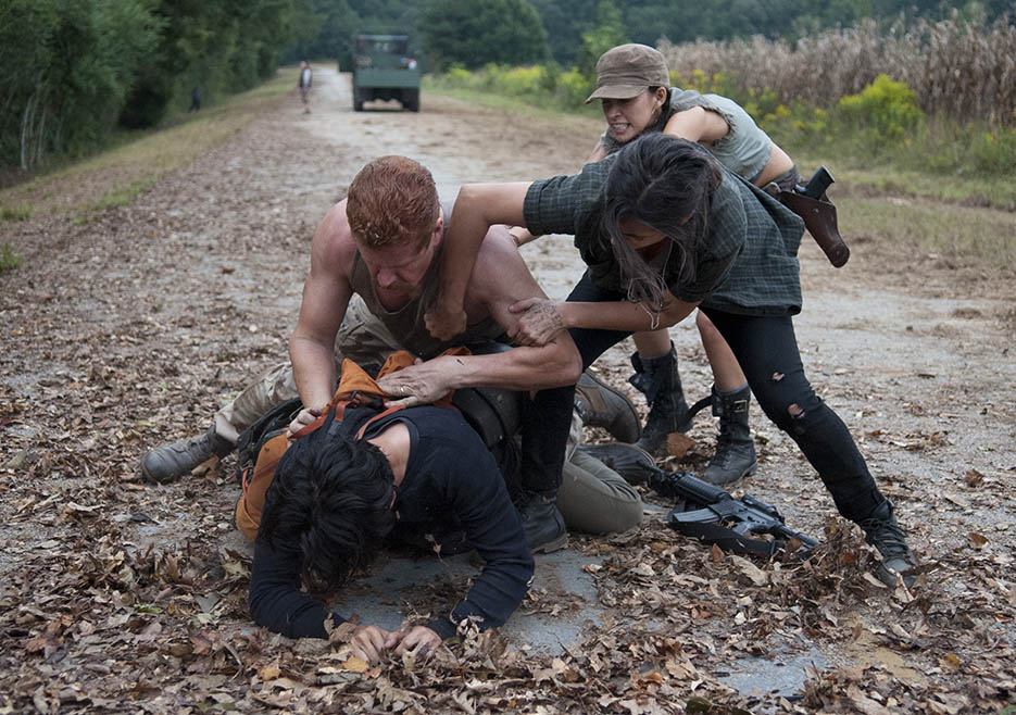 The Walking Dead 4x11 Claim Glenn