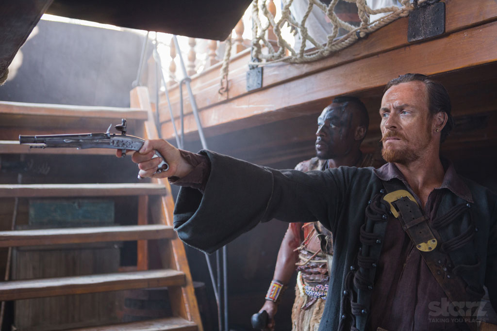 Black Sails temporada 1 serie starz Captain Flint