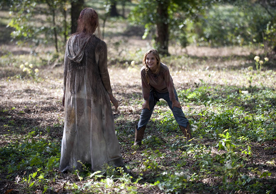The Walking Dead 414 Lizzie Walker