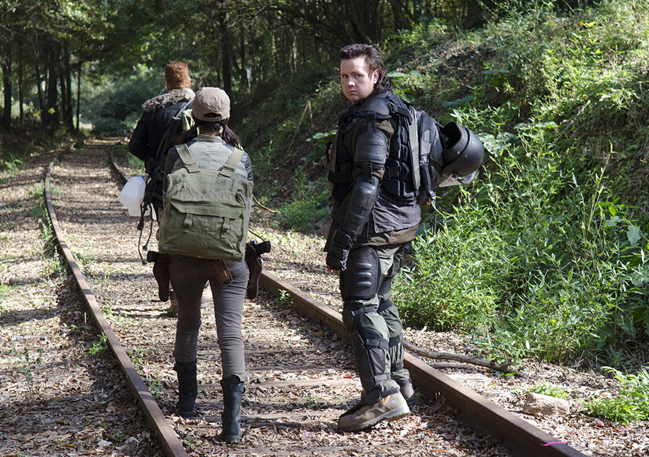 Walking Dead Serie americana Capitulo 415 Ford Eugene Rosita