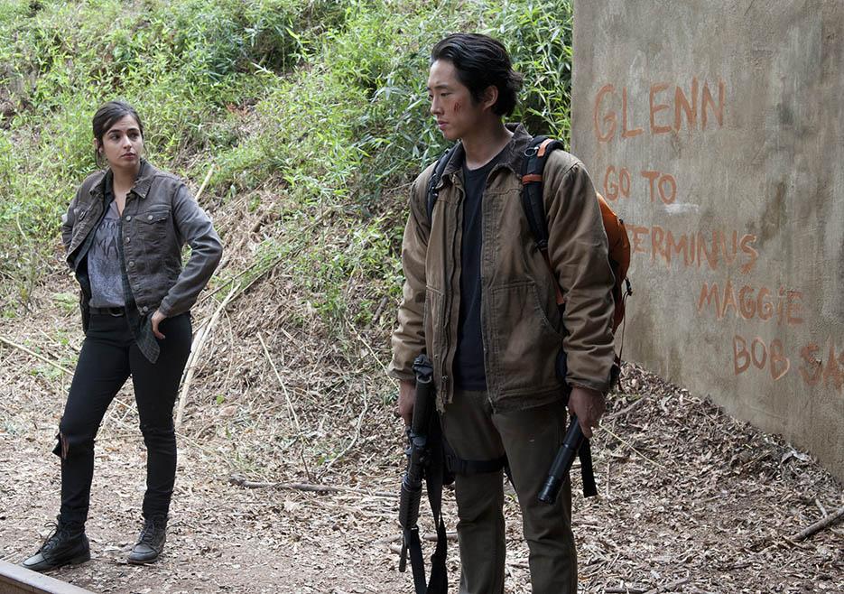 The Walking Dead Review Us Temporada 4 Capítulo 15 español Glenn Tara