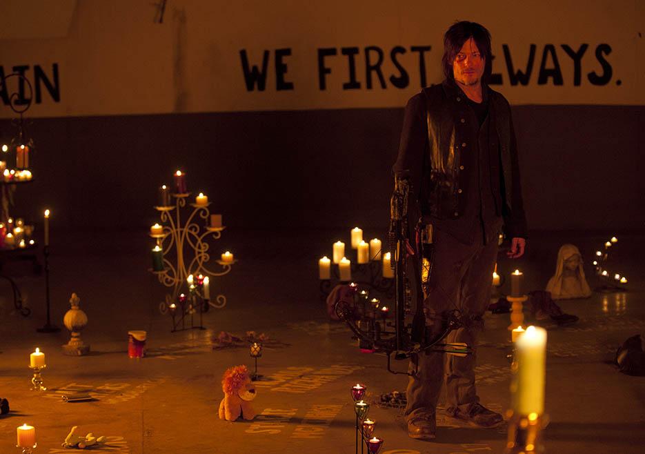 The Walking Dead 416 Season Finale Temporada 4 Daryl Dixon Terminus