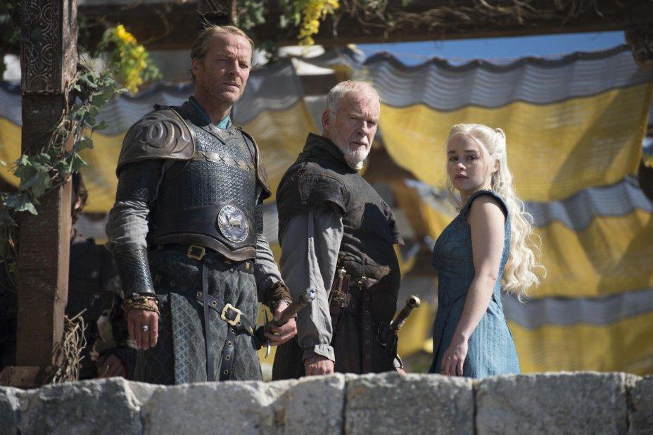 Juego de Tronos Game of Thrones Capítulo 4 Oathkeeper Daenerys Targaryen Emilia Clarke