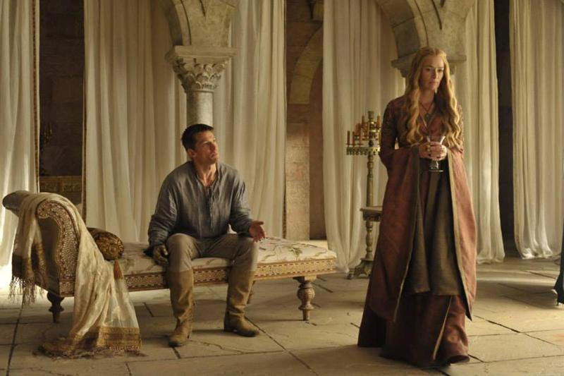 Juego de Tronos Temporada 4 Jaime y Cersei Lannister