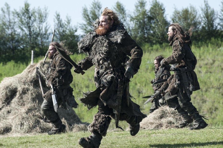 Juego de Tronos Temporada 4 wildlings
