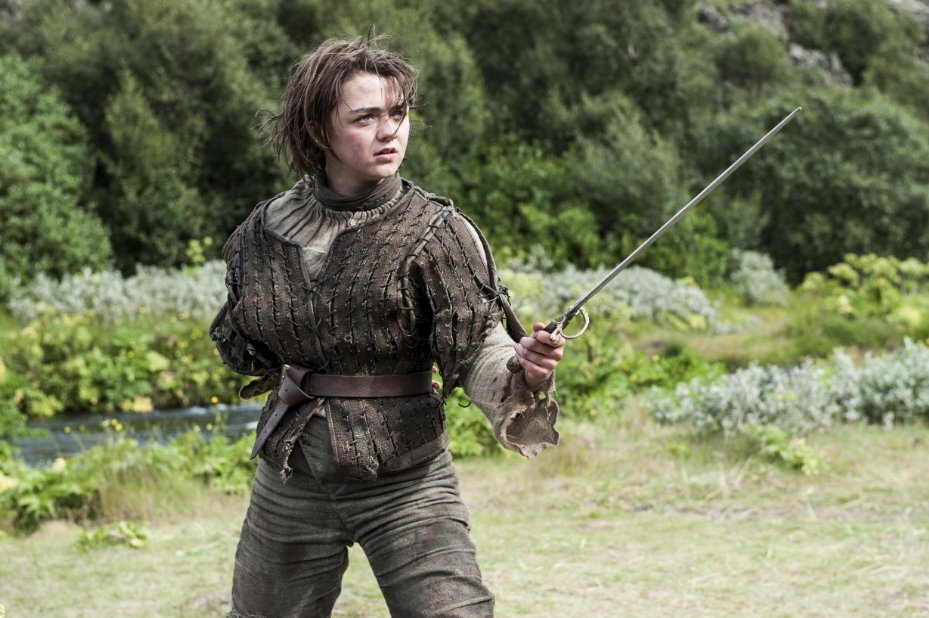 Game of Thrones Season 4 Arya Stark