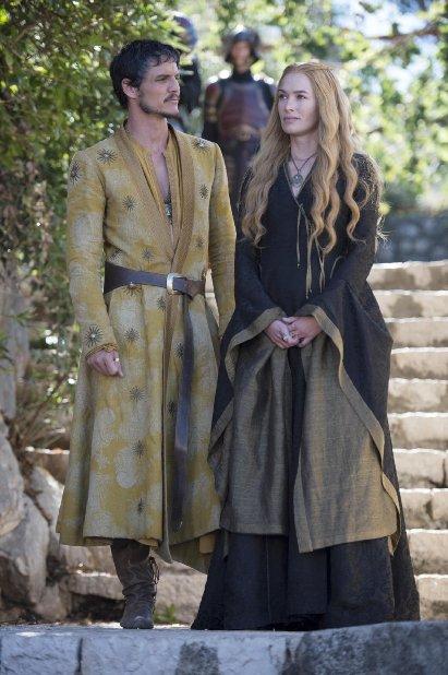 Juego de Tronos Cersei y Oberyn discuten de sus hijos