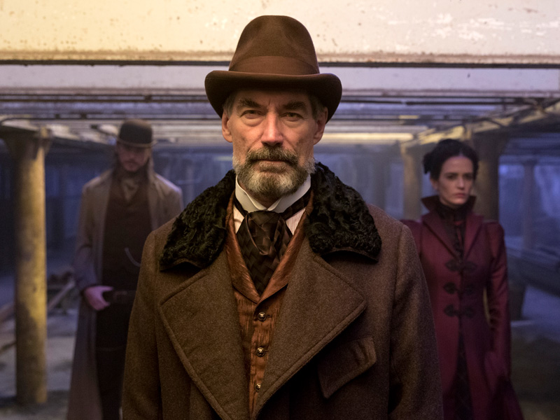 Penny Dreadful Sir Malcom Vanessa Ives Ethan Chandler
