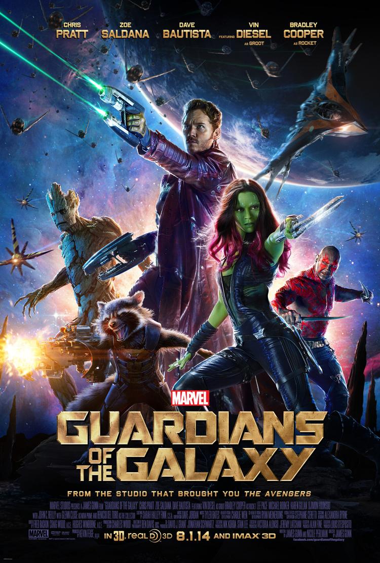 """Crítica de la película Marvel """"Guardianes de la Galaxia"""""""