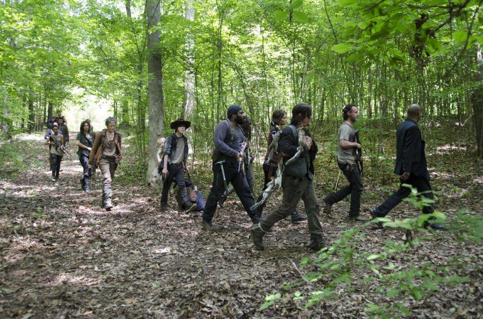 Resumen de The Walking Dead temporada 5