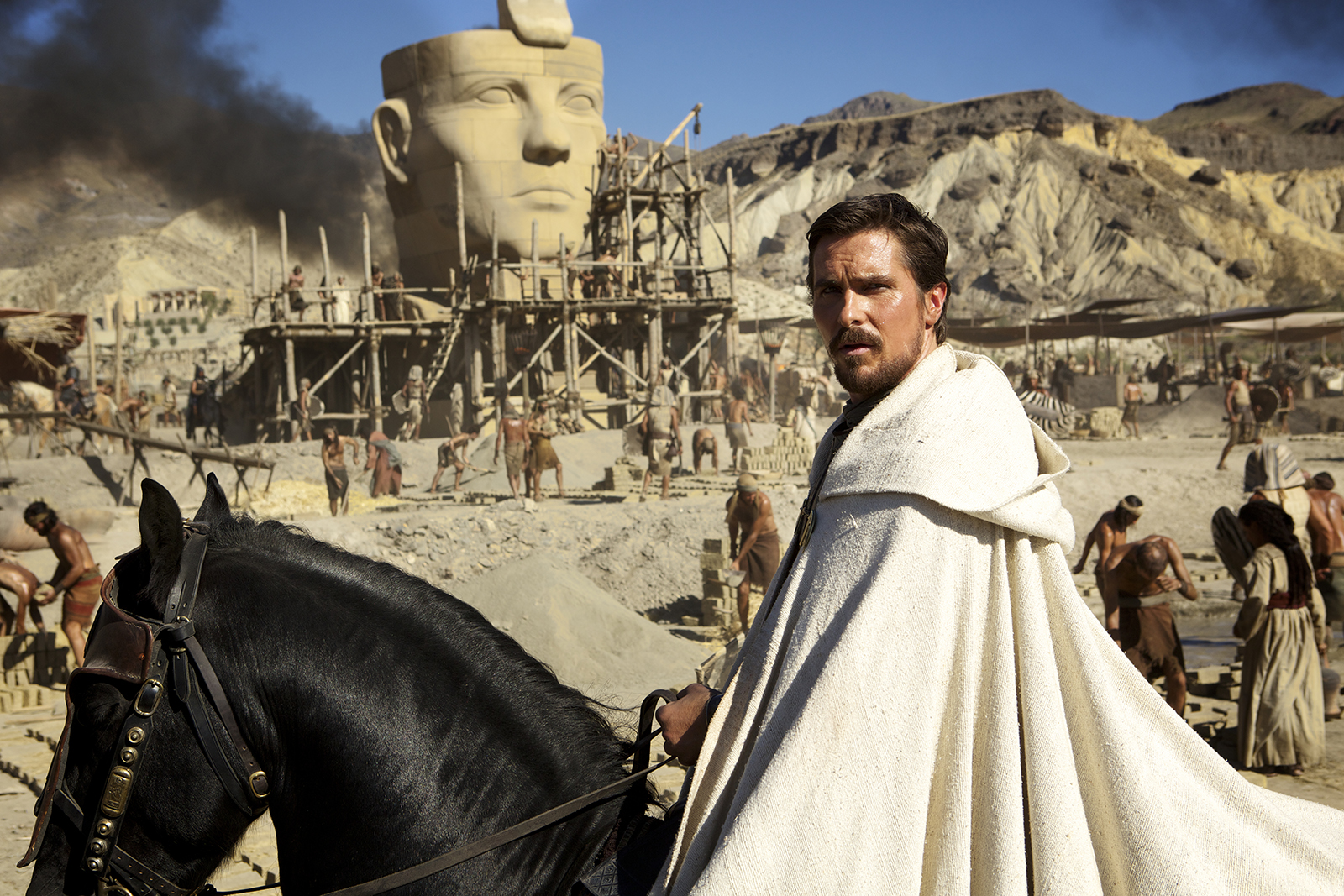 Crítica de la película Exodus realizada por Ridley Scott y con Christian Bale