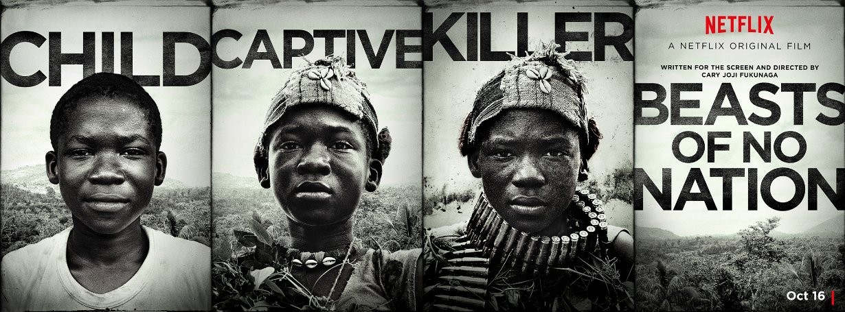 Crítica de la película Beasts of No Nation de Cary Fukunaga