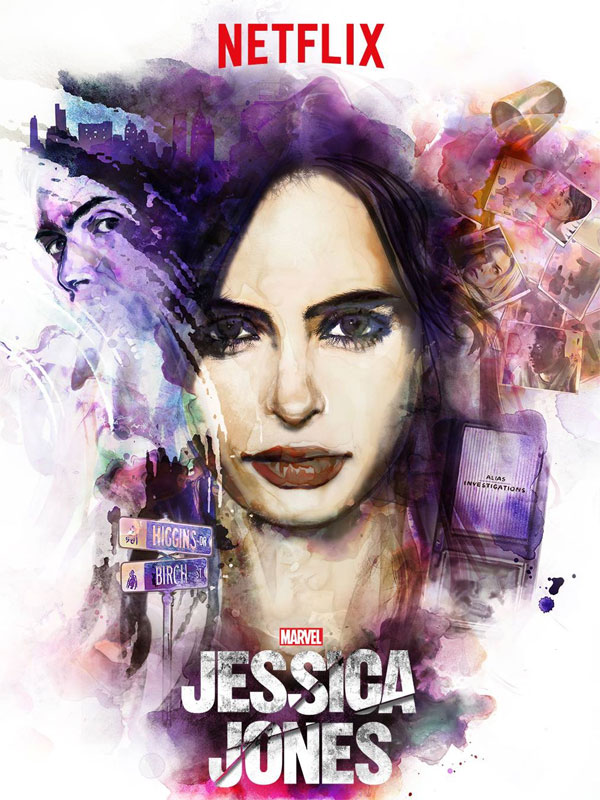 Jessica Jones de Marvel y Netflix