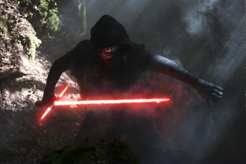 Star Wars el despertar de la Fuerza - Kylo Ren
