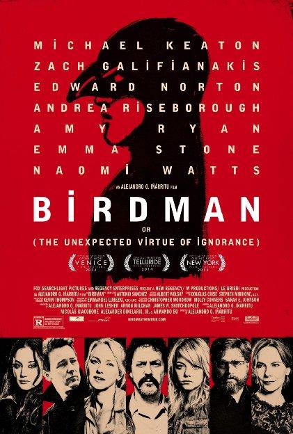 Birdman película de Alejandro Iñárritu