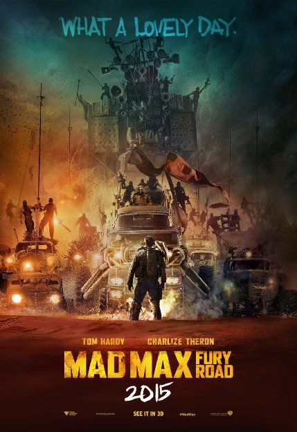 Mad Max Fury Road cabecera