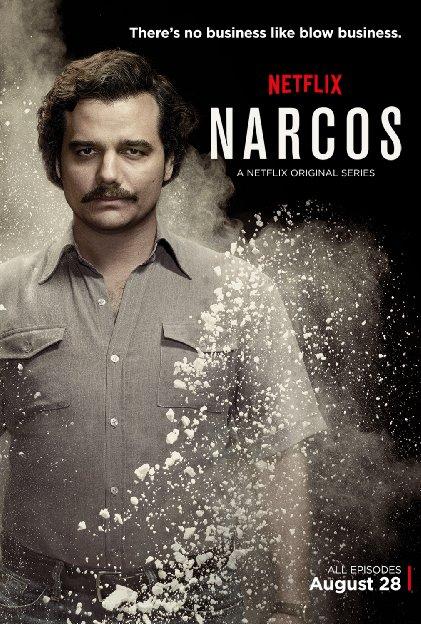 Narcos, serie sobre la vida de Pablo Esocbar