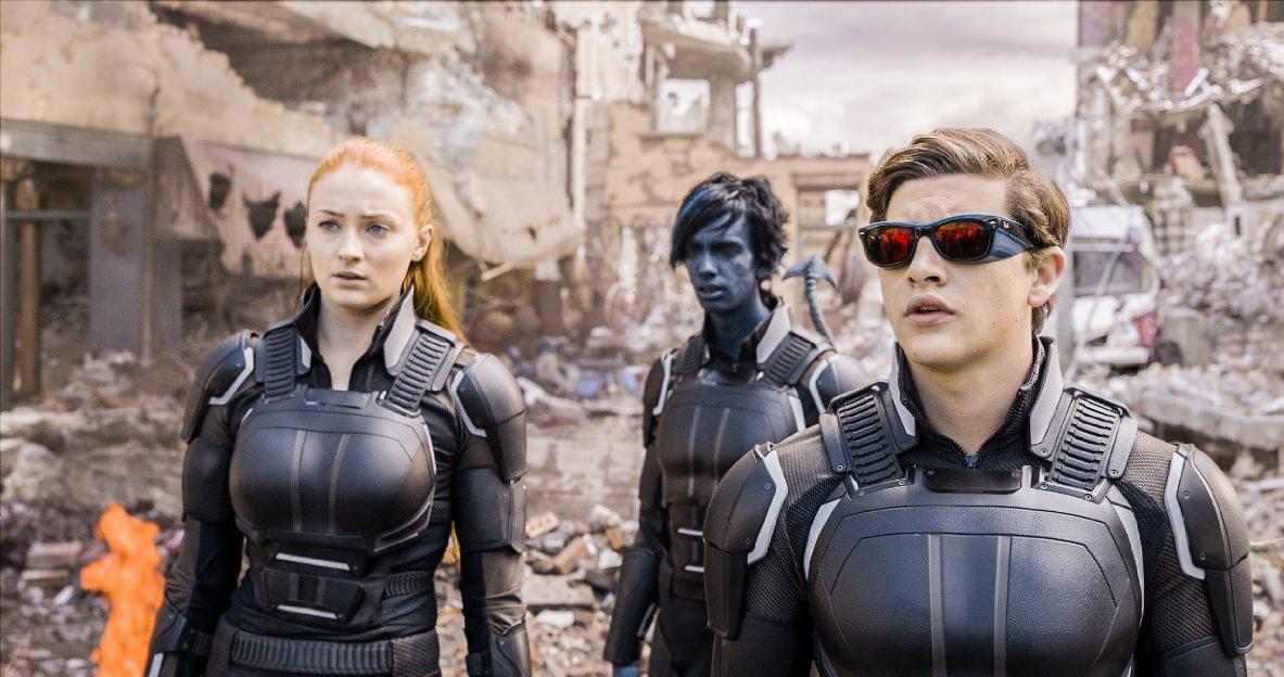 X-Men Apocalipsis con Sophie Turner, Tye Sheridan y Kodi Smit-McPhee