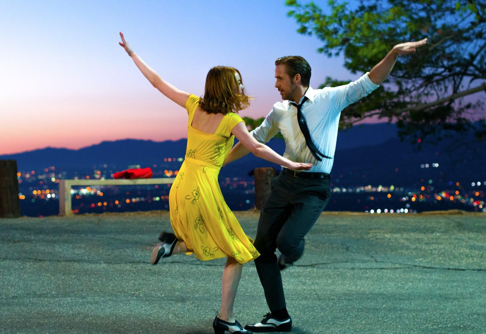 La La Land con Emma Stone y Ryan Gosling